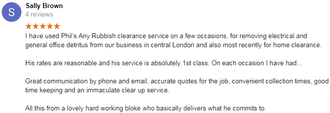 brixton rubbish clearance